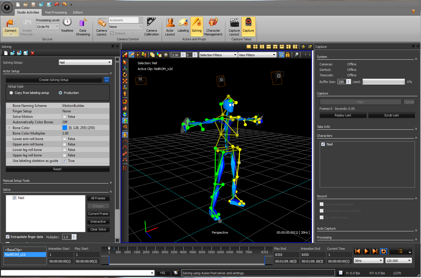 Visualmarker - video motion capture